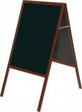 Bi-Office DKT30404052 Lavagna Gessetti con Cavaletto colore Ciliegio