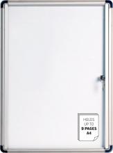 Bi-Office VT720109660 Bacheca Budget Enclore A4 Magnet