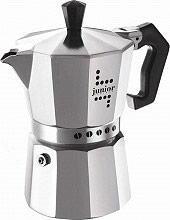 Aeternum 0000032NW Caffettiera Espresso Moka 3 Tazze colore Argento  Junior