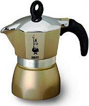 Bialetti Macchina Macchinetta Caffè Moka 3 tazze DAMA GLAMOUR 3TZ PERLA