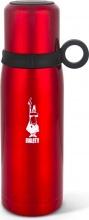 Bialetti DCXIN00001 Bottiglia termica con tazza 460 ML colore Rosso