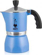 Bialetti Macchina caffè Moka 1 Tazza Caffettiera Azzurro - BIA290875 Fiammetta