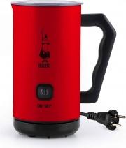 Bialetti MKF02 Montalatte elettrico Monta o Riscalda il latte Rosso  Milk Frother