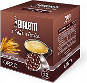 Bialetti Capsule Alluminio per Mokona Confezione 12 pezzi senza caffeina - Orzo