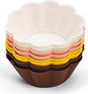 Bialetti Stampi silicone dolci Set 8 pirotini Muffin Forma Fiore ZDCSIPT08FR