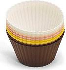 Bialetti Stampi silicone dolci Set 8 pirotini Muffin grandi ZDCSIPT08L