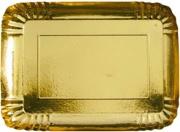 Bibo 4460572 Vassoio Carta Oro cm 38x29 pz. 2