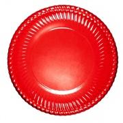 Bibo 4461601 Piatto Carta Portata Rosso cm 30 pz. 6
