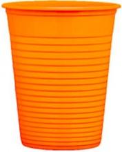Bibo 5567504 Bicchiere cc 200 Festacolor Arancio pz. 50