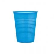 Bibo 5567509 Bicchiere cc 200 Festacolor Azzurro pz. 50