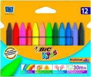 Bic 8297732 Confezione 12 Pastelli Kids Plastidecor T