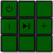 Bigben Interactive BT17RUBIKS Cassa Bluetooth Speaker 9 W colori Assortiti  Rubik