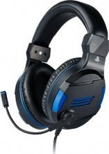 Bigben Interactive PS4OFHEADSETV3 Cuffie Gaming con Microfono colore Blu