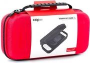 Bigben Interactive SWITCHPOUCHLRED Custodia rigida per Nintendo Transport Case L Red POUCHLRED