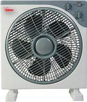 Bimar Ventilatore Box Fan da Tavolo o da Terra a Pale Timer VBOX34T
