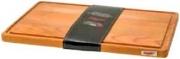 Bisetti 26300 Tagliere con raccoglisugo 35x23x2 cm Legno di faggio