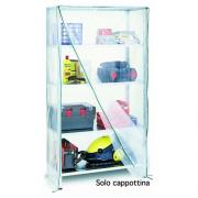 Bizzotto KIS100 Cappottina nylon per Kit scaffale 100x40x188