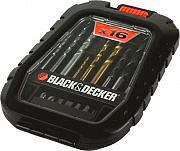 Black&Decker Set inserti punte avvitatore e forare 16 pezzi A7186