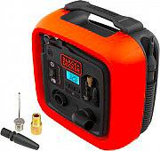 Black & Decker ASI400 Compressore portatile auto 12V 160 PSI Pressione 11 BAR