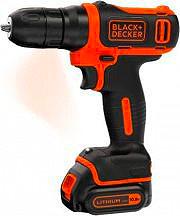 Black&Decker Trapano Avvitatore a Batteria Litio senza fili BDCD12-QW