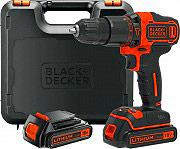Black & Decker BDCHD18KB-QW Trapano avvitatore percussione Batteria litio 18V BDCHD18KB