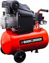 Black & Decker BD 20524 Compressore Aria Compressa ad Olio 24 Litri Hp 2,0 220V