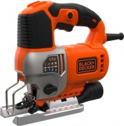 Black & Decker BES610KQS Seghetto alternativo 650Watt pendolare 2 lame + valigetta