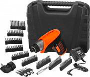 Black & Decker Avvitatore a batteria litio Svitavvita Ricaricabile 3.6V CS3652LKA