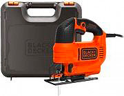 Black&Decker Seghetto alternativo elettrico 520W Taglio 45° + Valigetta KS701PEK