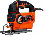 Black&Decker Seghetto alternativo elettrico 550W Autoselect + Valigetta KS801SEK