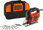 Black&Decker Seghetto alternativo elettrico 620W Autoselect + Borsa KS901SESA2