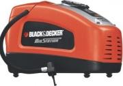Black & Decker ASI300-QS Compressore Aria portatile elettrico 3 ugelli 12V230V