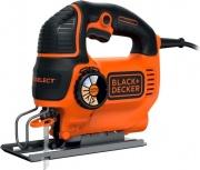 Black & Decker KS801SE-QS Seghetto alternativo con Spazzapolvere 550 W valigetta