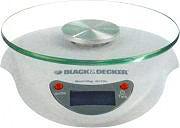 Black & Decker SK2020 Bilancia cucina digitale elettronica Max 3 Kg col Bianco