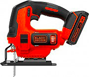 Black & Decker BDCJS18-QW Seghetto alternativo a Batteria Litio 18V 0-2.500 corsemin BDCJS18