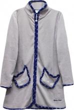 Blanco Raya PT161215-4A Vestaglia Donna Invernale Micropile Taglia M Grigio