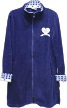 Blanco Raya PT161215-5B Vestaglia Donna Invernale Micropile Taglia S Blu
