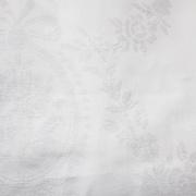 Blanco Raya Coprimaterasso Una Piazza Mezza con Cerniera Cotone 130x190cm 2879-2