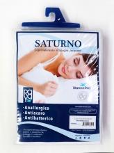 Blanco Raya Saturno Coprimaterasso Una piazza e Mezza Anallergico 130x190+25h cm