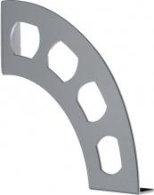 Bolis AA2E020AA2F1 Reggimensola Boomerang V.Argento cm 18x19 Coppia  5