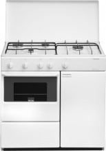 Bompani BI960YAL Cucina a Gas 4 Fuochi Forno a Gas 85x45 cm Bianco
