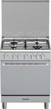 Bompani BO643MEN Cucina a gas con Forno Elettrico 4 Fuochi 60x60 cm Inox