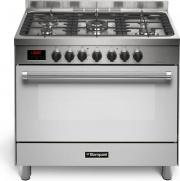 Bompani BO683DLN Cucina a Gas 4 Fuochi con Forno Elettrico 90x60 cm Cl A Inox
