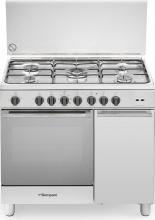 Bompani BO943CFL Cucina a Gas con Forno Elettrico 5 Fuochi 90x60 cm Inox