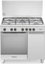 Bompani BO953EFL Cucina a Gas con Forno a gas 5 Fuochi 90x60 Classe A Inox