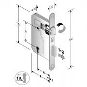 Bonaiti 48 042 045 ME Serratura Patent mm 8x70 E45 Bt Bronzata Gb