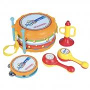 Bontempi 1025 Set strumenti musicali giocattolo Set 4 strumenti musicali 60