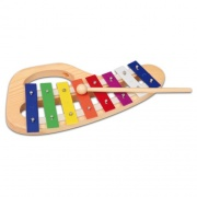 Bontempi XMW8.2 Pianola giocattolo Metallofono 8 note