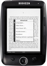 "Bookeen A000046 Lettore eBook Reader 1 GB 5"" Linux Nero  Cybook Opus Black"