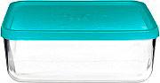 Bormioli 2301030043 Contenitore in vetro 26x21 cm Tappo ermetico  FrigoVerre